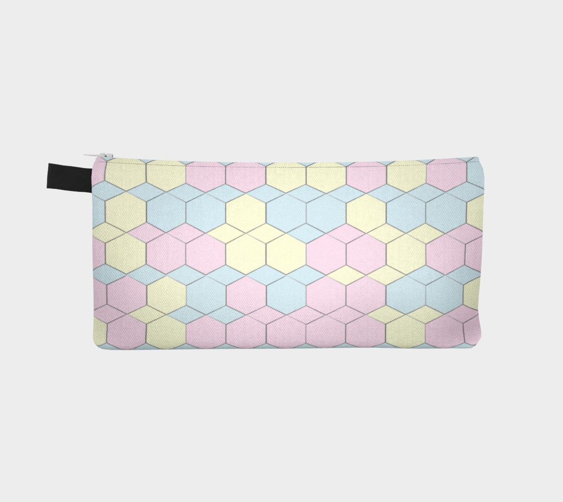 Colorful Honeycomb Diamond pattern preview #2