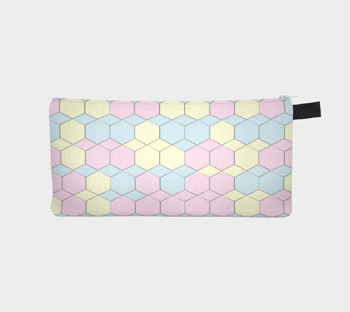 Colorful Honeycomb Diamond pattern preview #1
