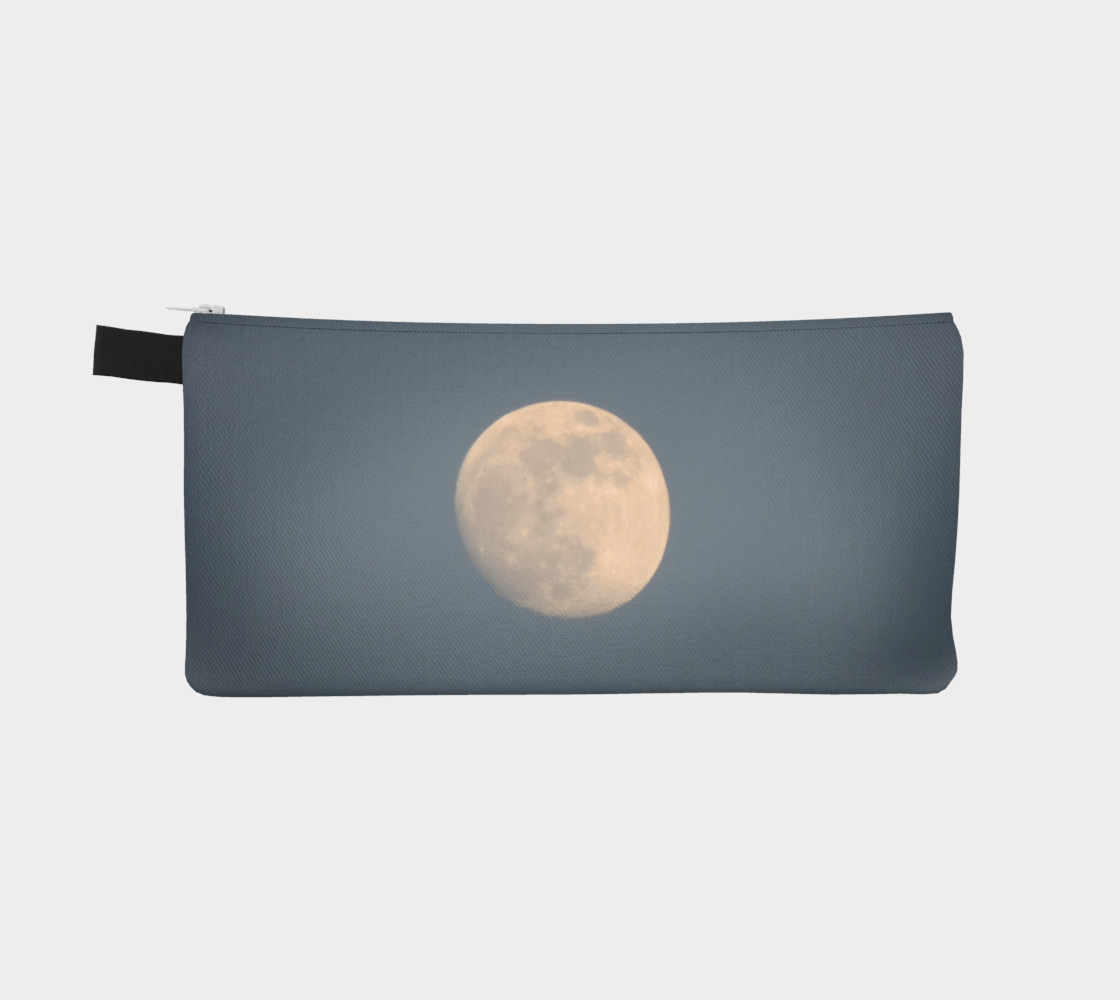 Moon and blue sky pencil case preview #2