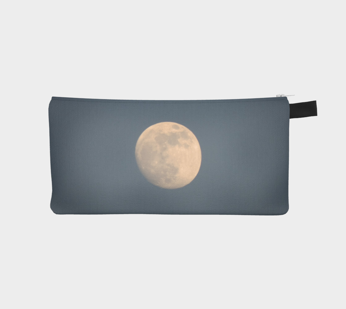 Moon and blue sky pencil case preview #1