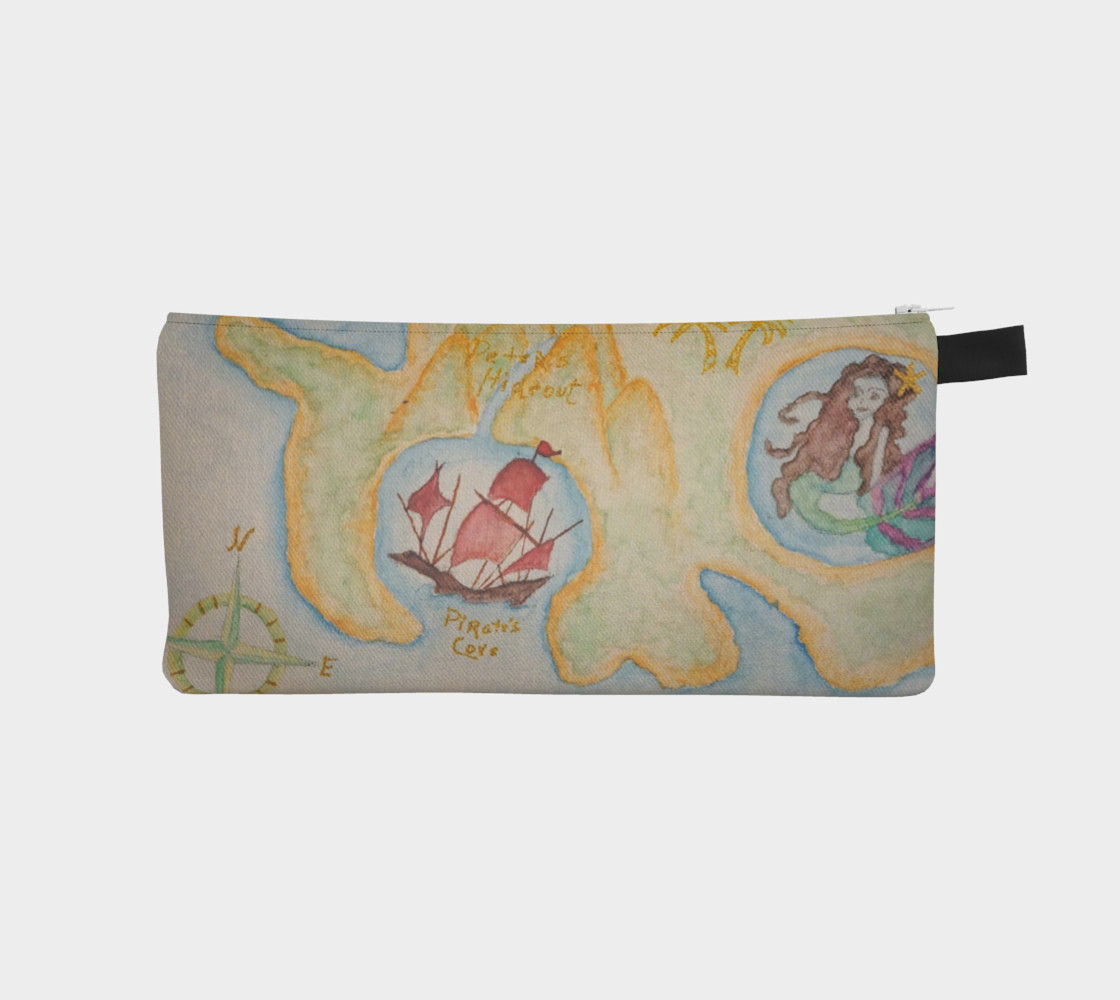 Aperçu 3D de Neverland Peter Pan Pencil Case