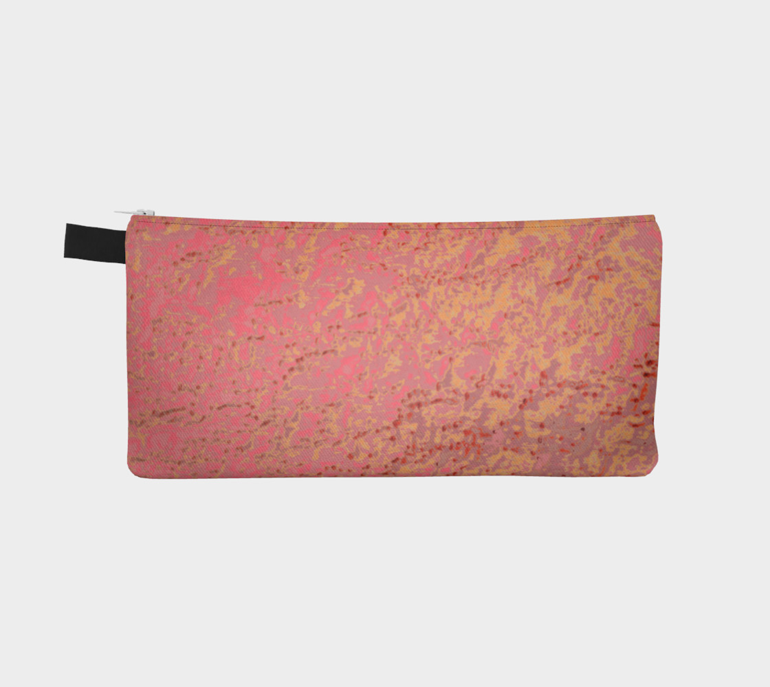 Bubble Gum Pink Golden Tangerine Eyelet Pattern preview #2