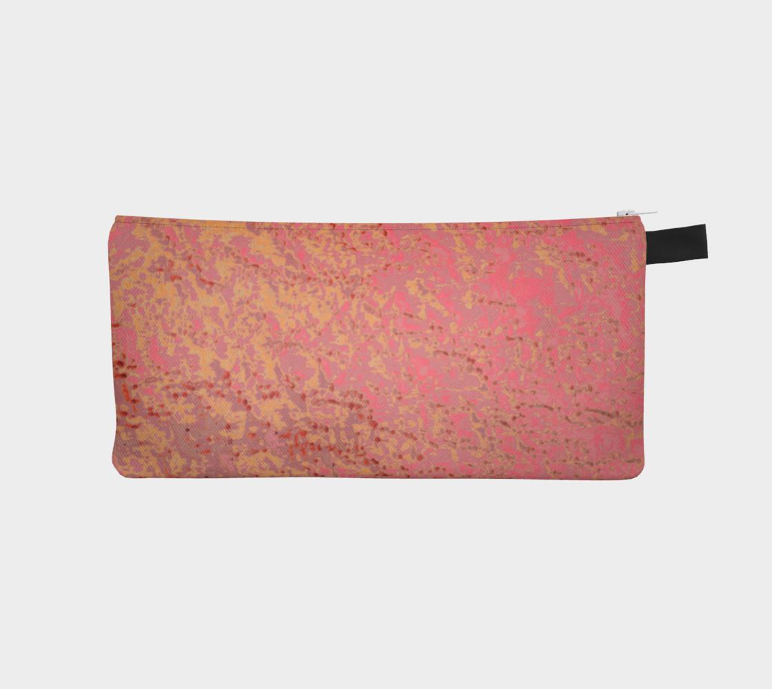 Bubble Gum Pink Golden Tangerine Eyelet Pattern preview #1
