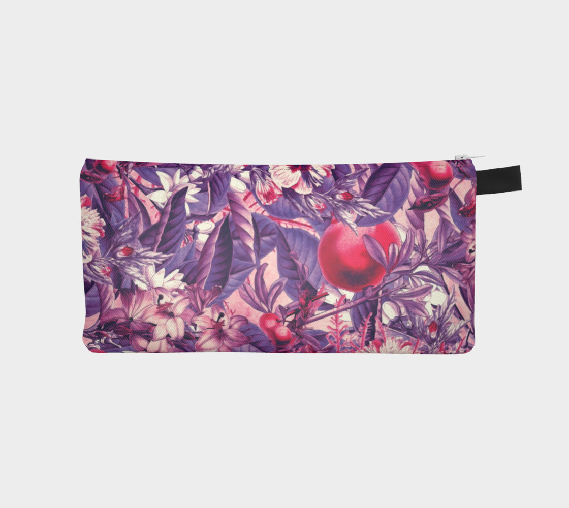 fruits and flowers pencil case preview #1