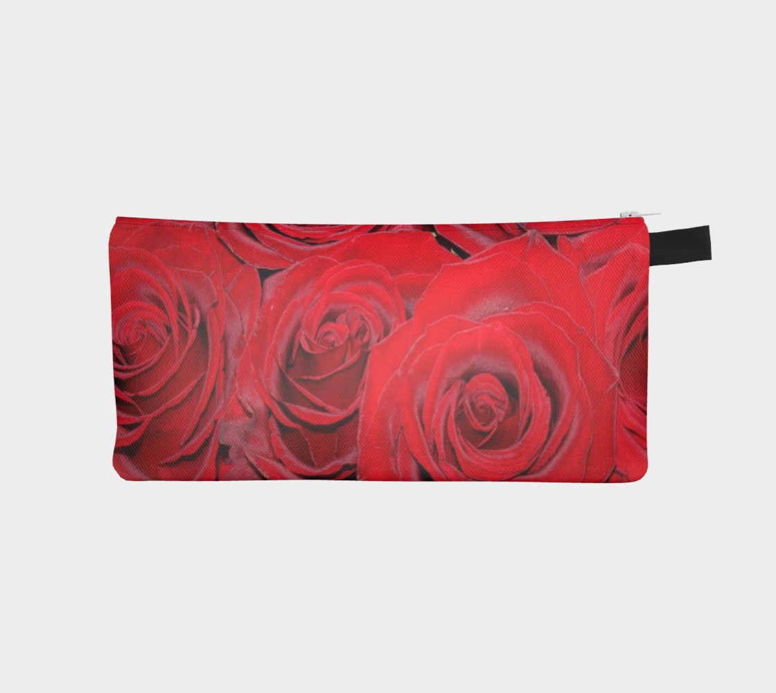 Romantic Red Roses Floral Design Case preview #1