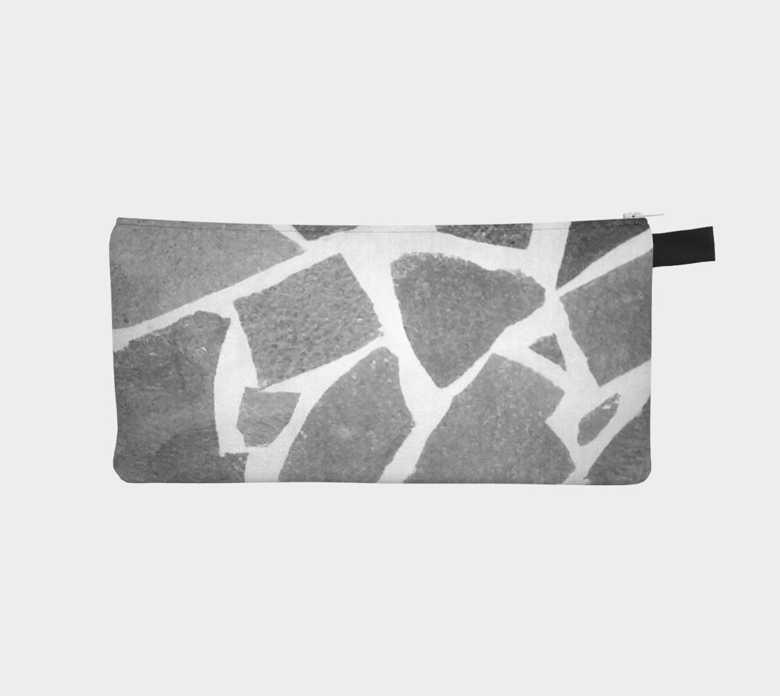 Gray White Stone Mosaic Pattern preview #1