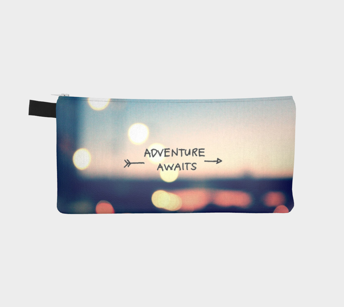 Adventure Awaits Pencil Case preview #2