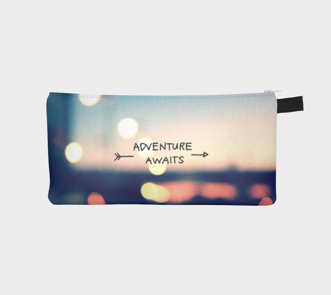 Adventure Awaits Pencil Case preview #1