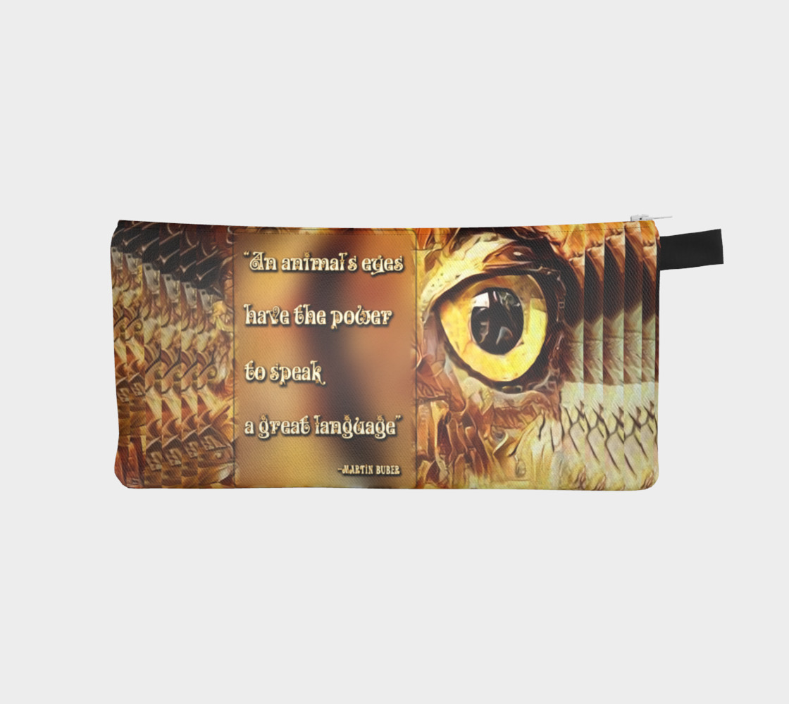 An Animal's Eyes Pencil Case 3D preview