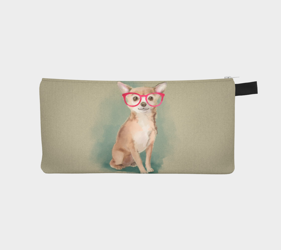 Chihuahua wearing glasses  3D preview