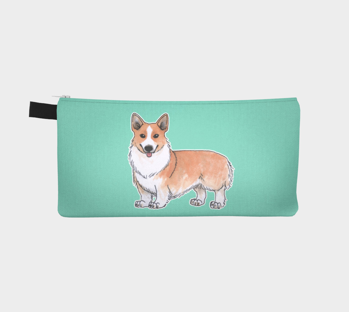 Welsh corgi dog Pencil Case preview #2
