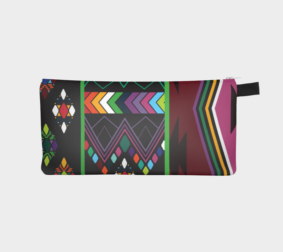 Aperçu de Aztec Pencil Bag #1