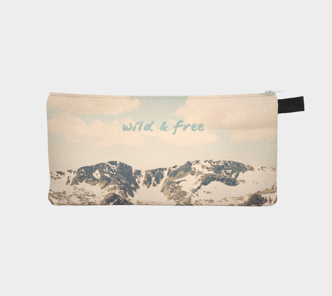Wild and Free Pencil Bag preview #1