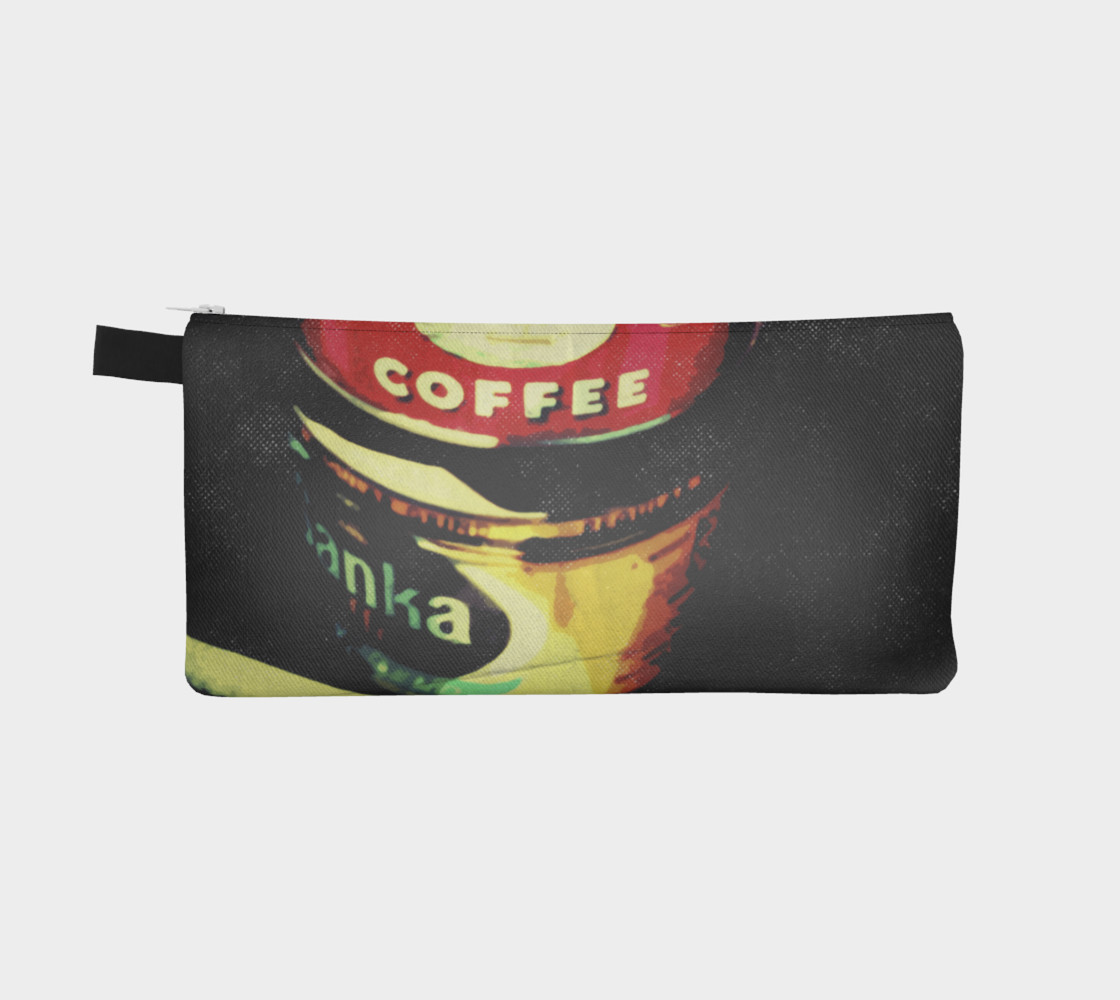 Vintage Coffee Time Pencil Case preview #2