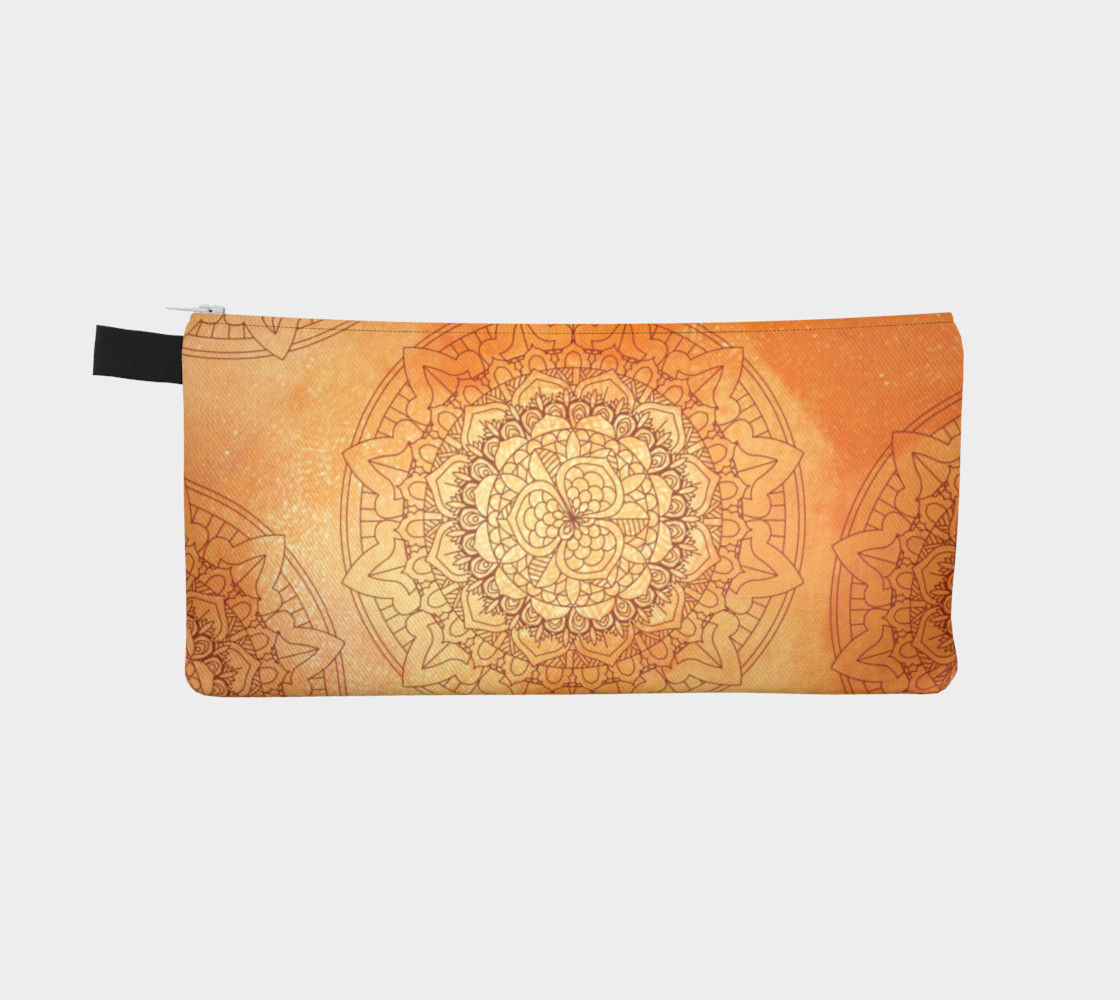 Orange Mandala Design preview #2