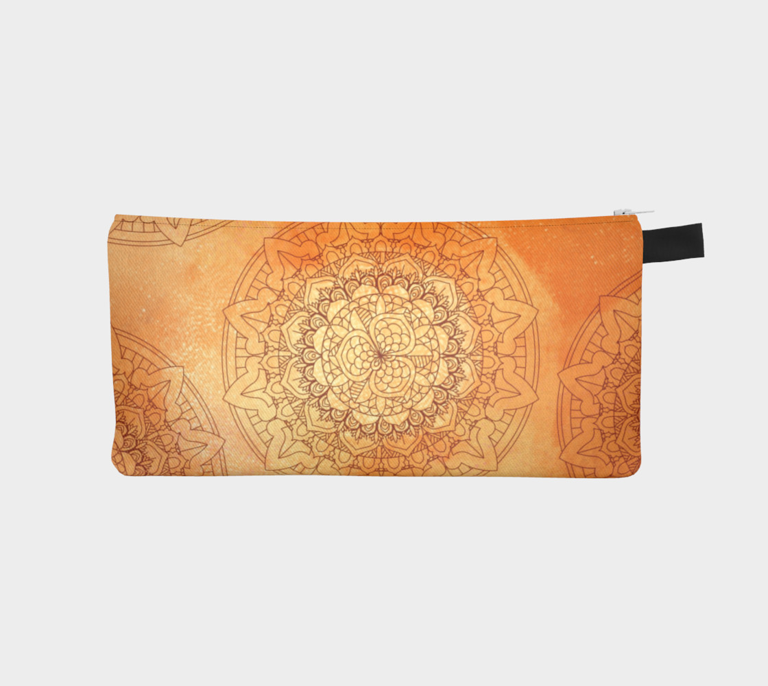 Orange Mandala Design preview #1