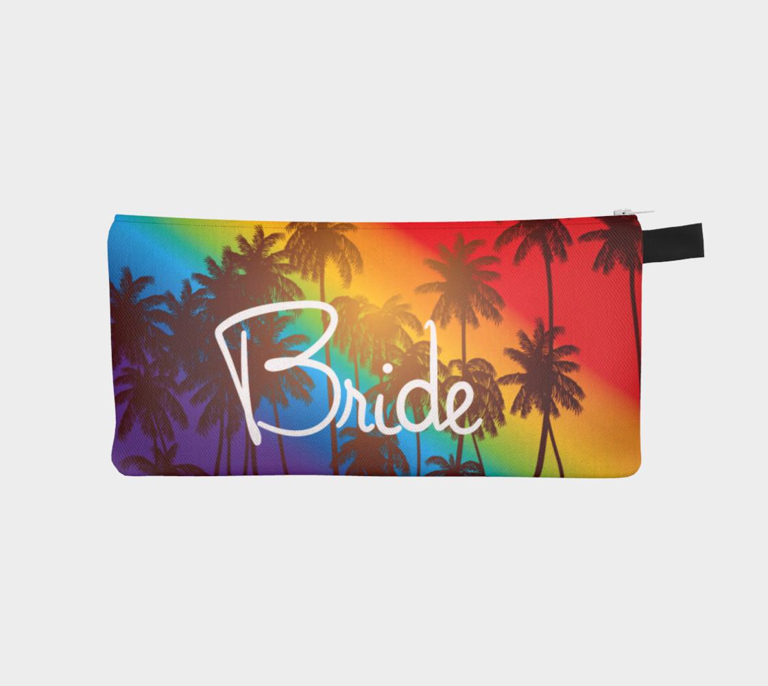 Bride makeup case tropical preview #1