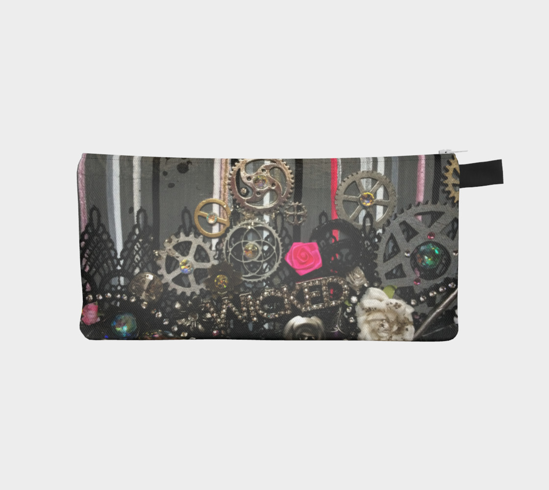 Wicked Zippered Pouch preview #1