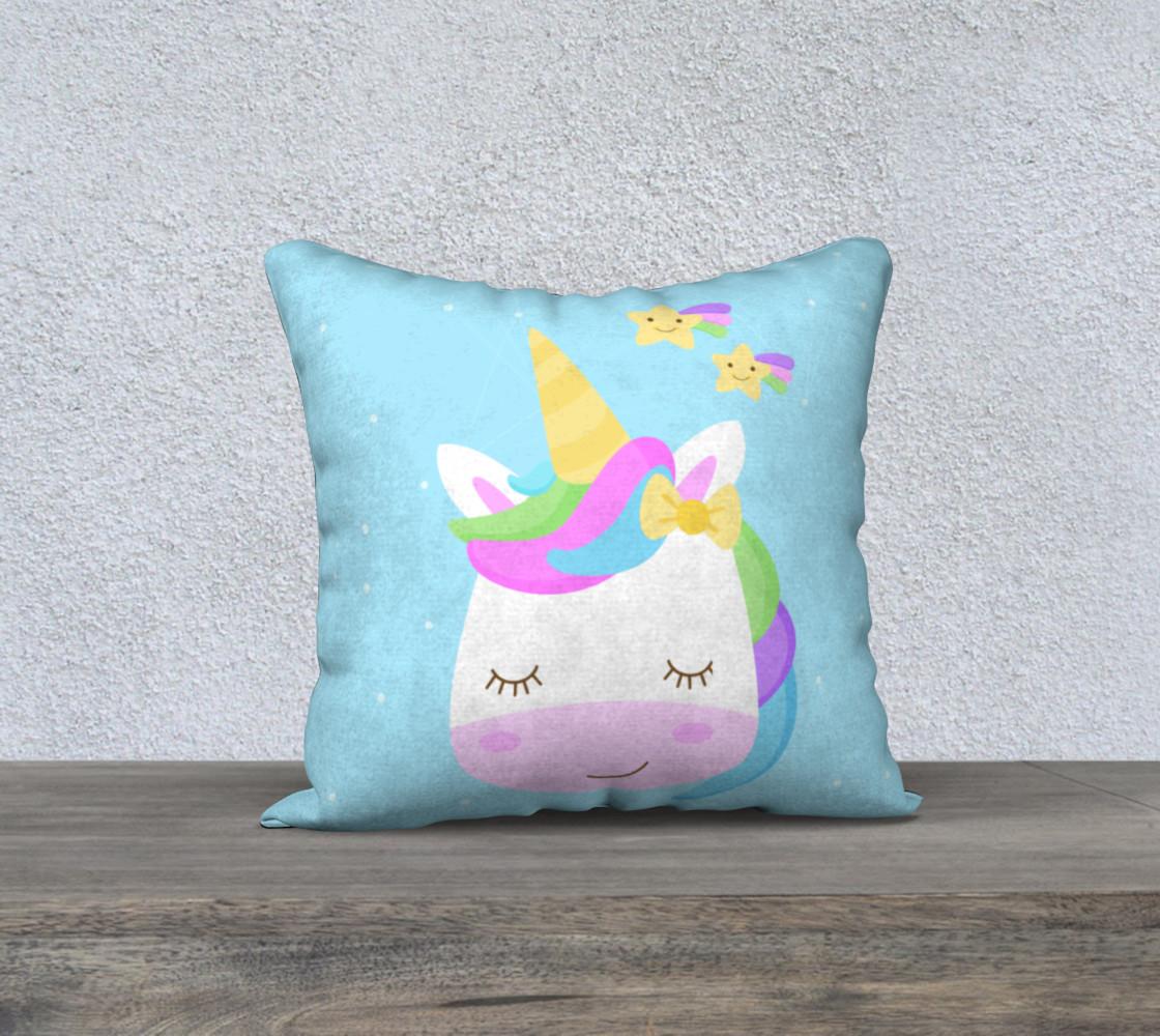 Unicorn pillow preview #1