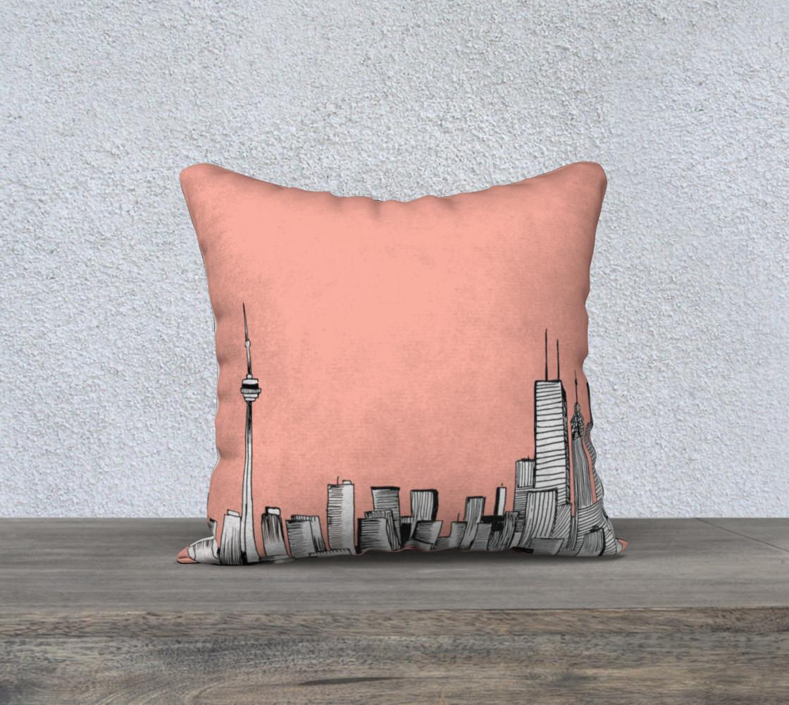 Pink Toronto Pillow preview #1