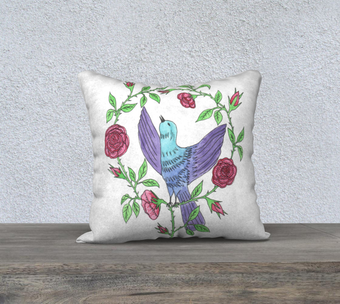Aperçu de Bird with roses #1