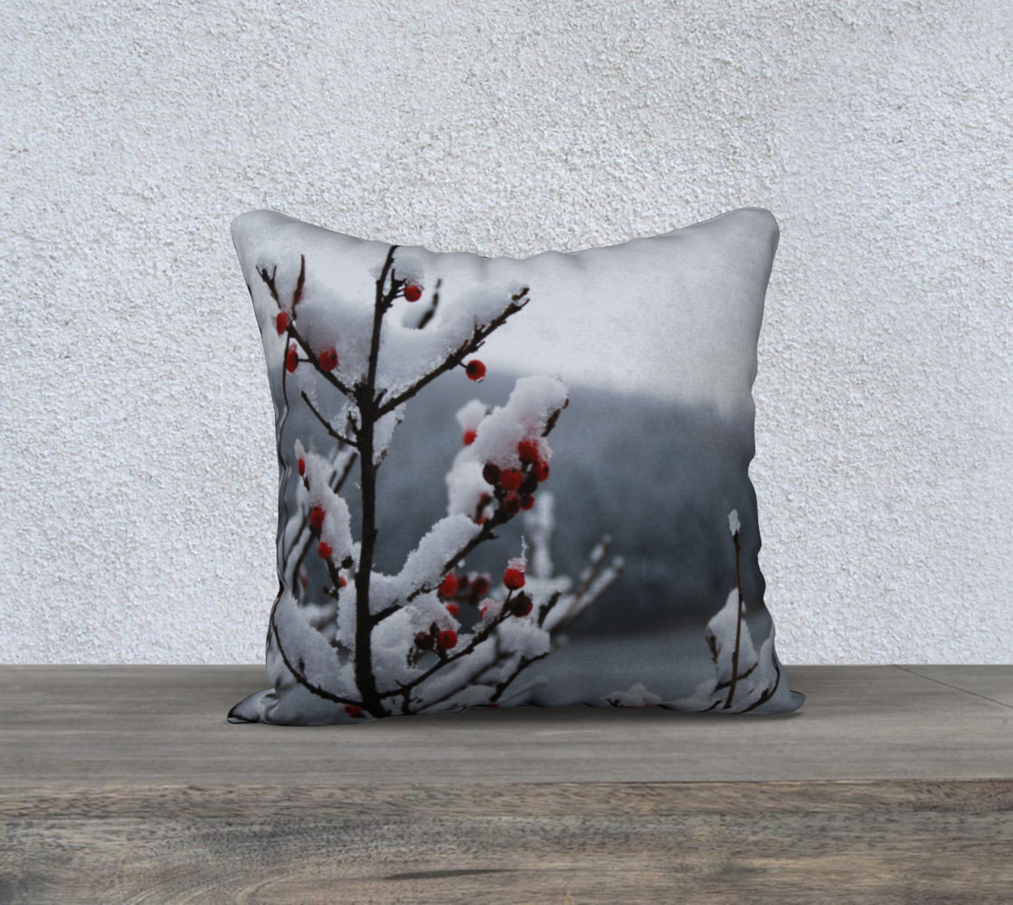 Snowberry pillow preview #1