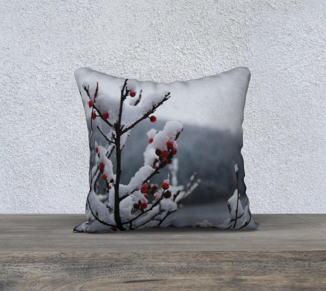 Aperçu de Snowberry pillow #1