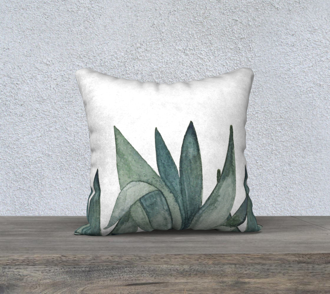 Watercolor Snake Plant preview #1
