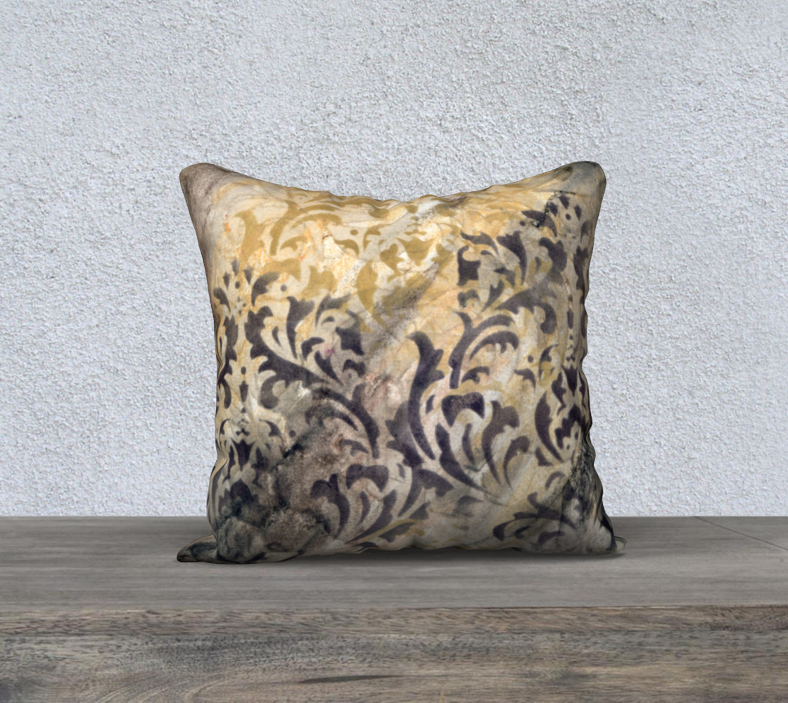 Aperçu de Gathering Natural Pillow Case 18sq #1