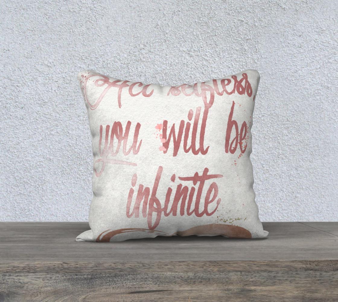 Aperçu de Act Selfless, You Will Be Infinite #1