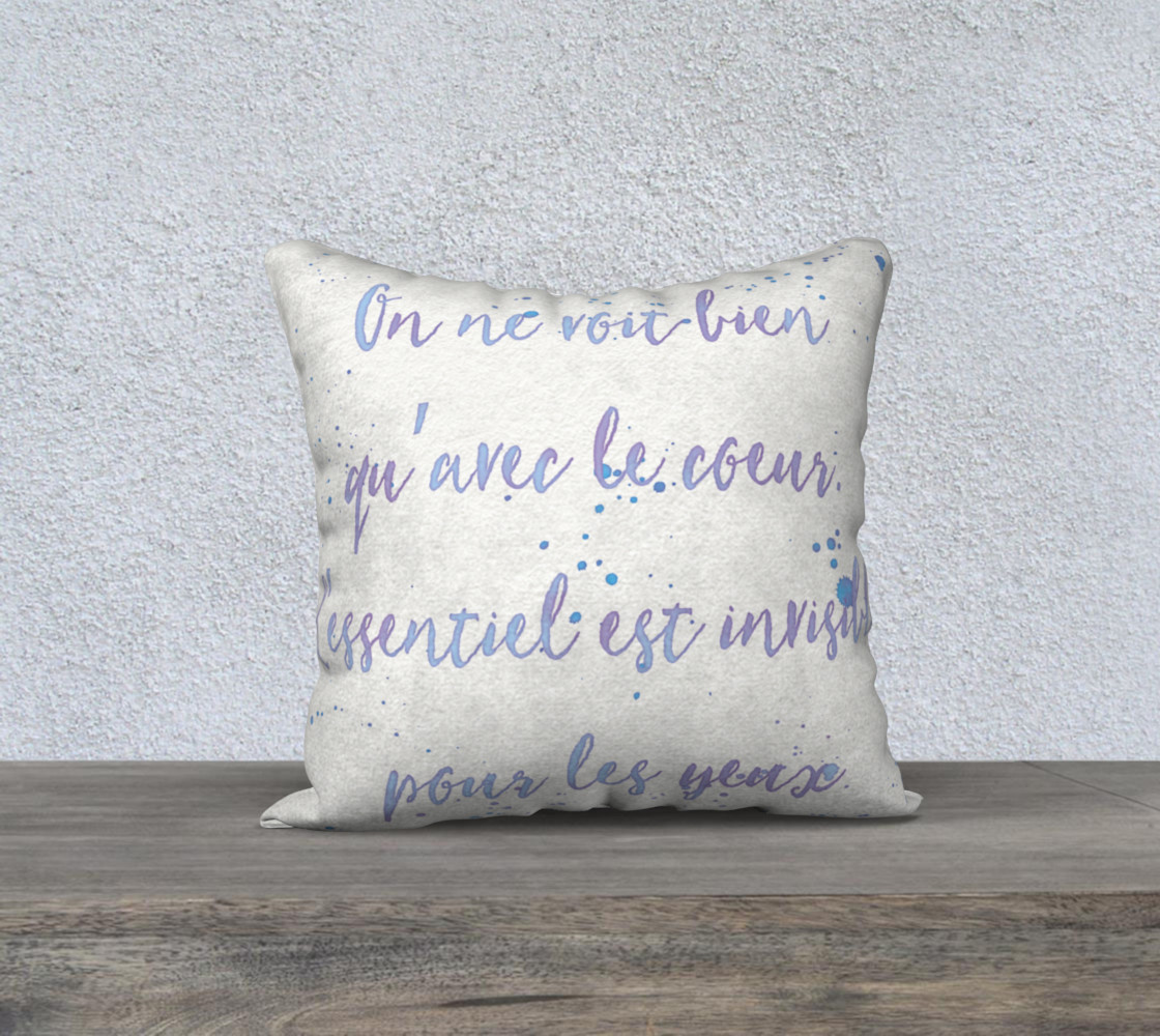 Little Prince Quote Pillow preview #1