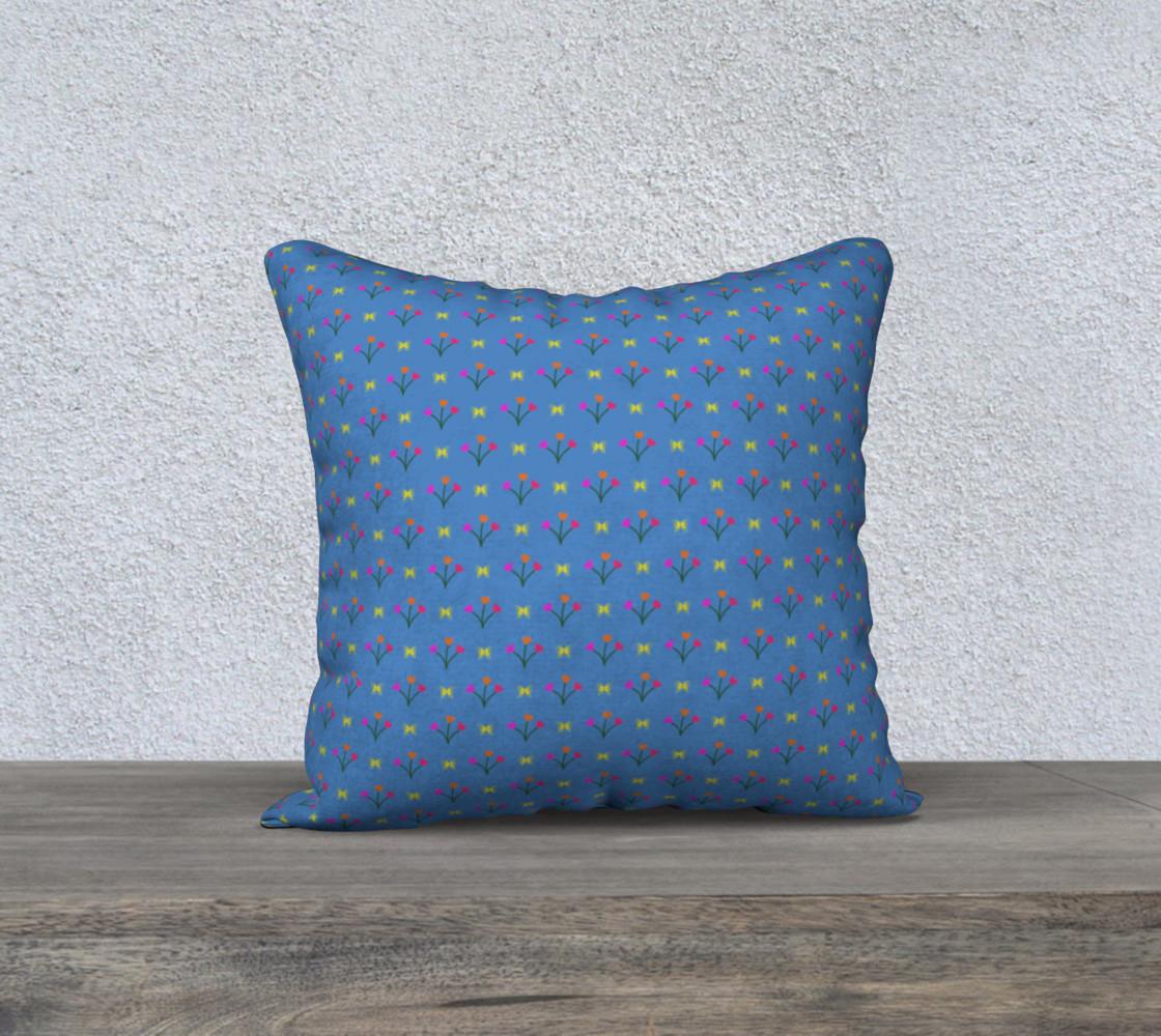 Flower Fields 18x18 Pillow Case preview #1