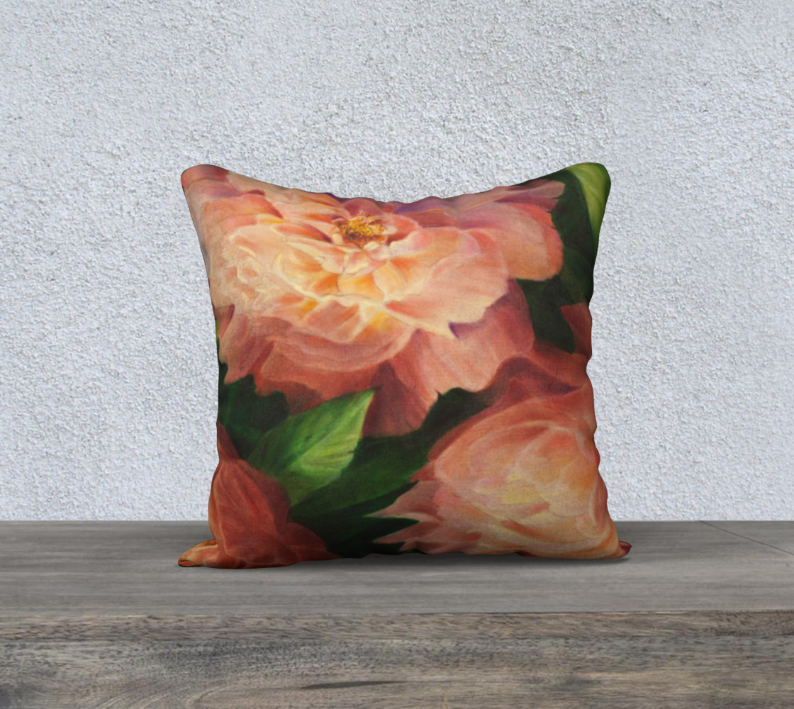 Spring Floral 18 X 18 Pillow Case preview #1