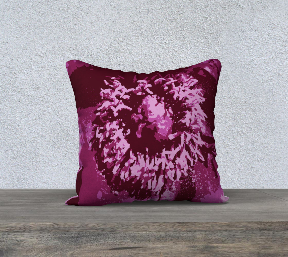 Pretty in Pink Peony Pillow preview #1