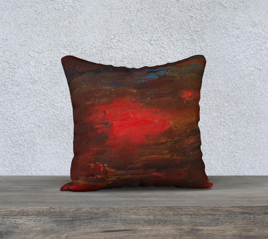 Crimson Ocean Pillow Case Style1 preview #1
