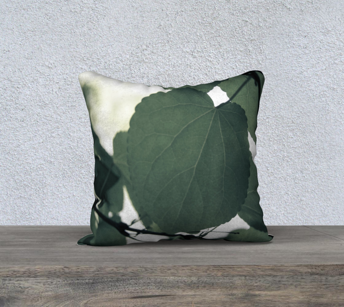 Green Leaves Pillow preview #1