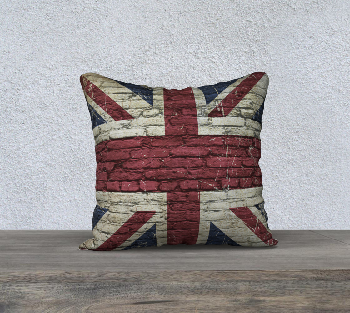 British Flag Pillow Case preview #1