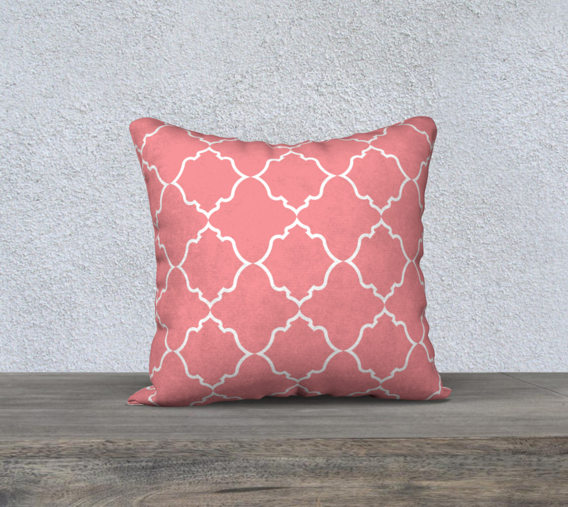 Moroccan White and Coral preview #1