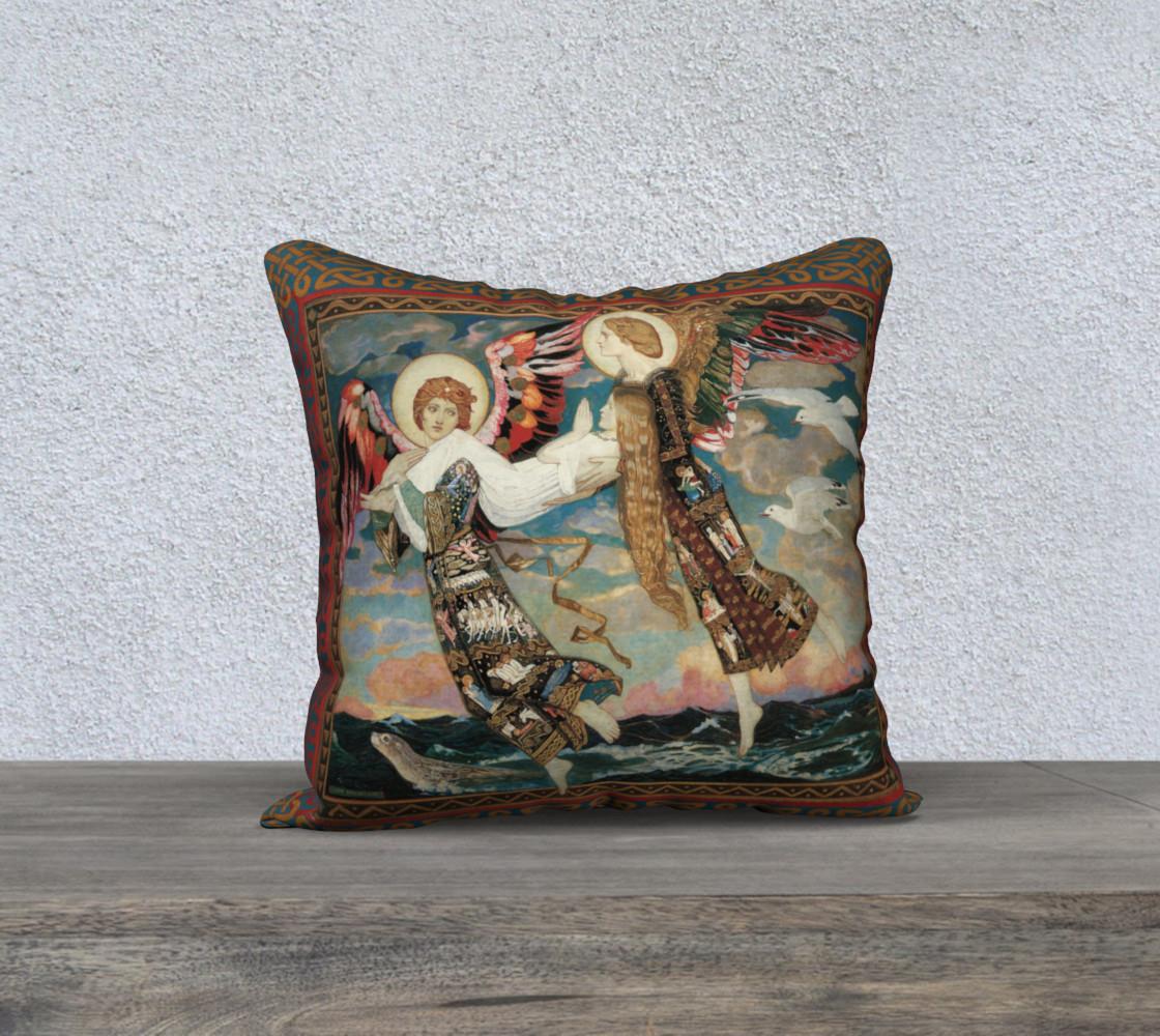 "Aperçu de St. Bride - 18"" x 18"" Pillow #1"