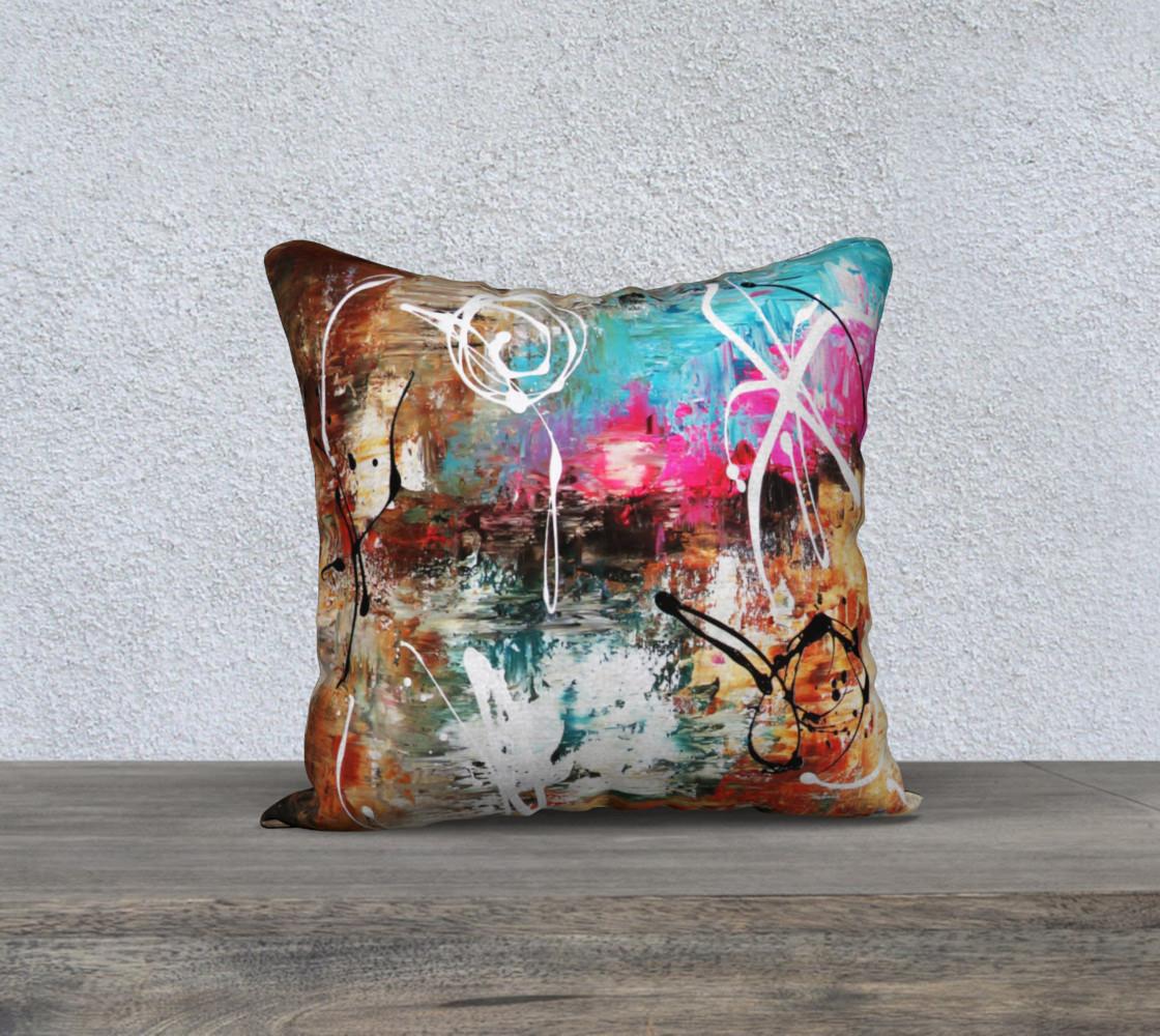 Matt LeBlanc Art Pillow - 001 - 18x18 preview #1