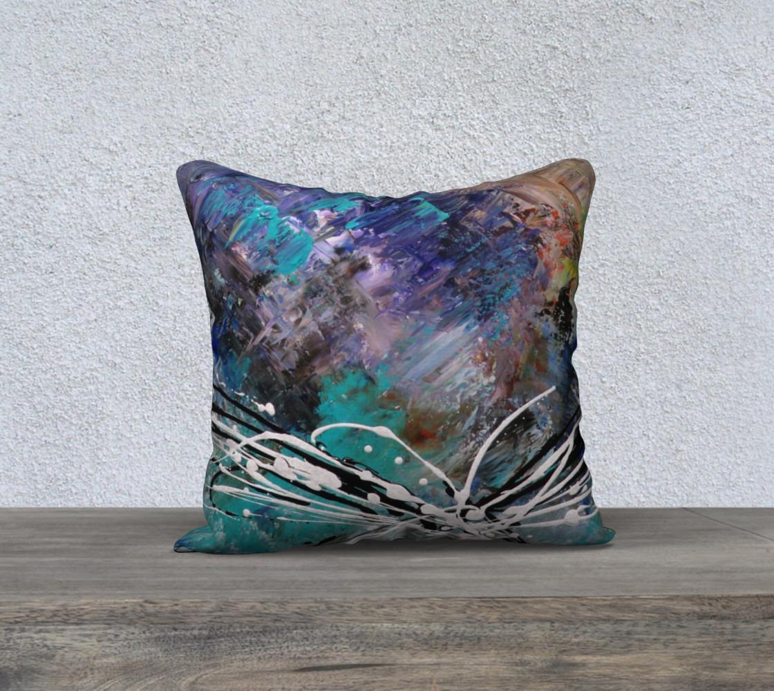 Matt LeBlanc Art Pillow - 002 - 18x18 preview #1