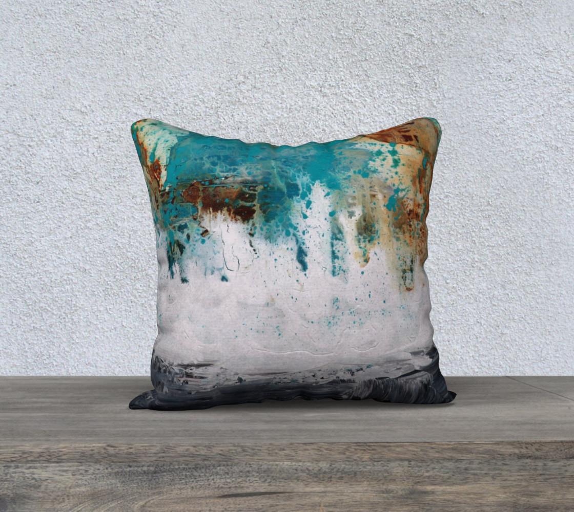 Matt LeBlanc Art Pillow - 004 - 18x18 preview #1