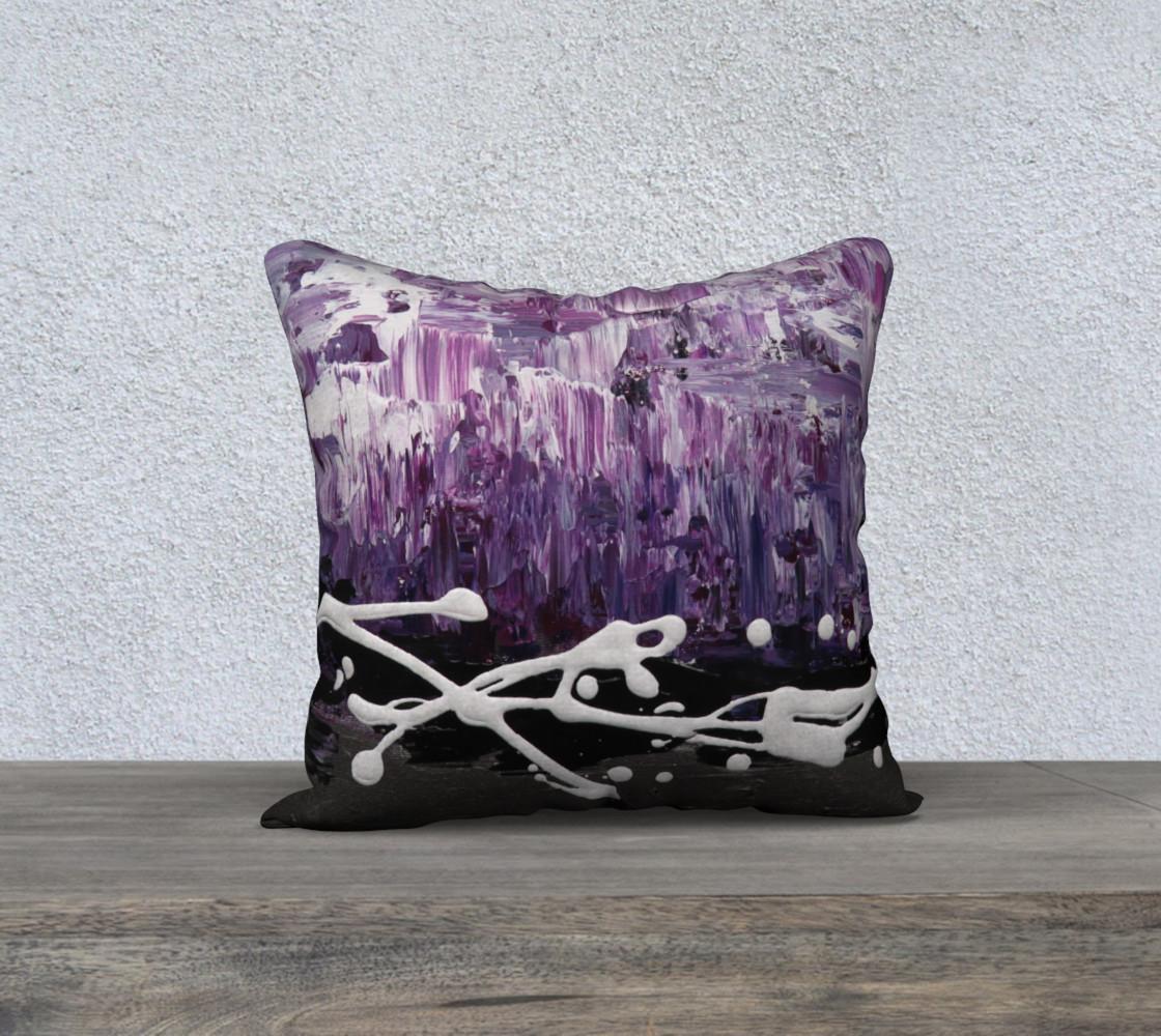 Matt LeBlanc Art Pillow - 005 - 18x18 preview #1