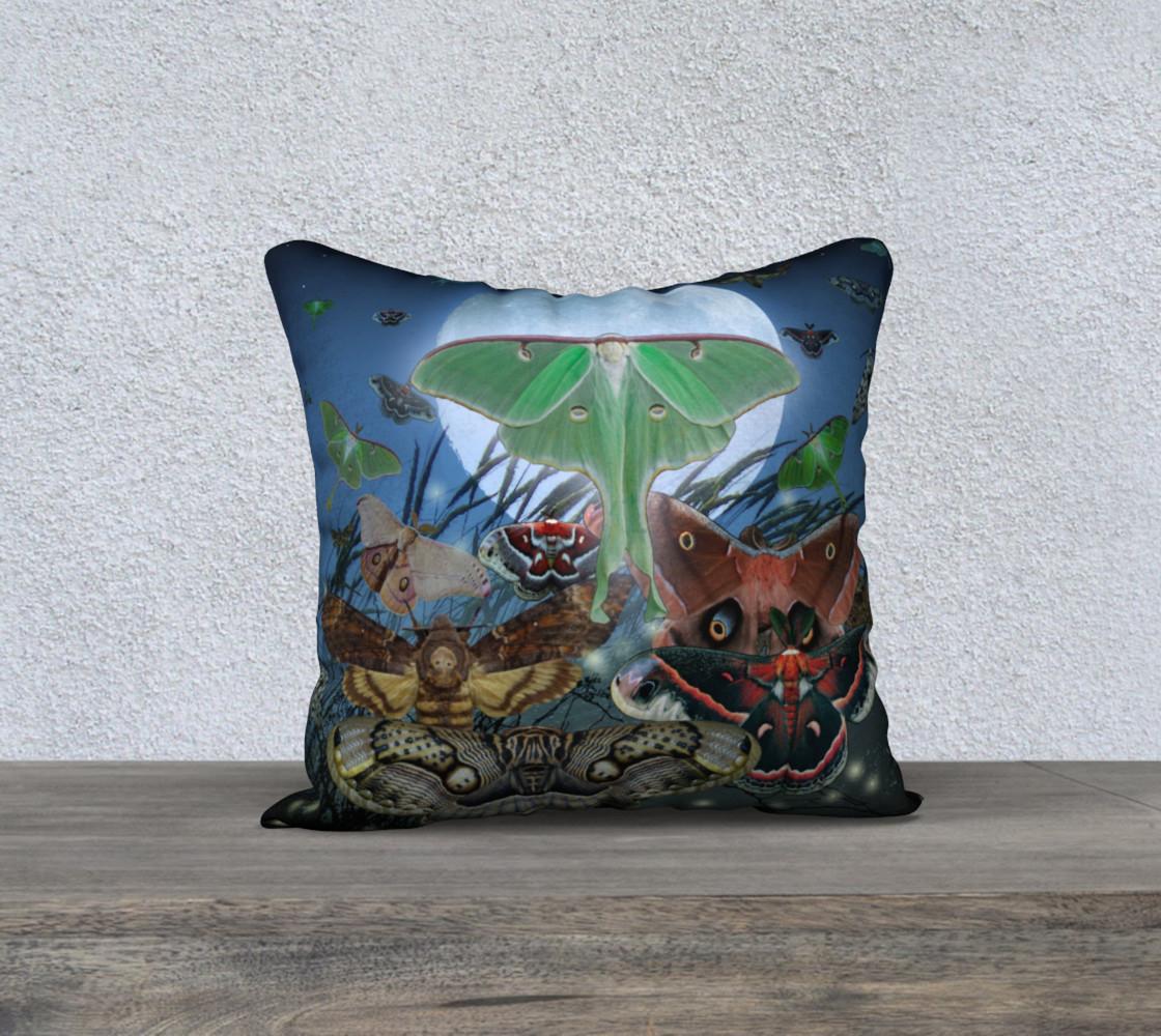 Aperçu de Luna Nocturne Small Pillowcase #1