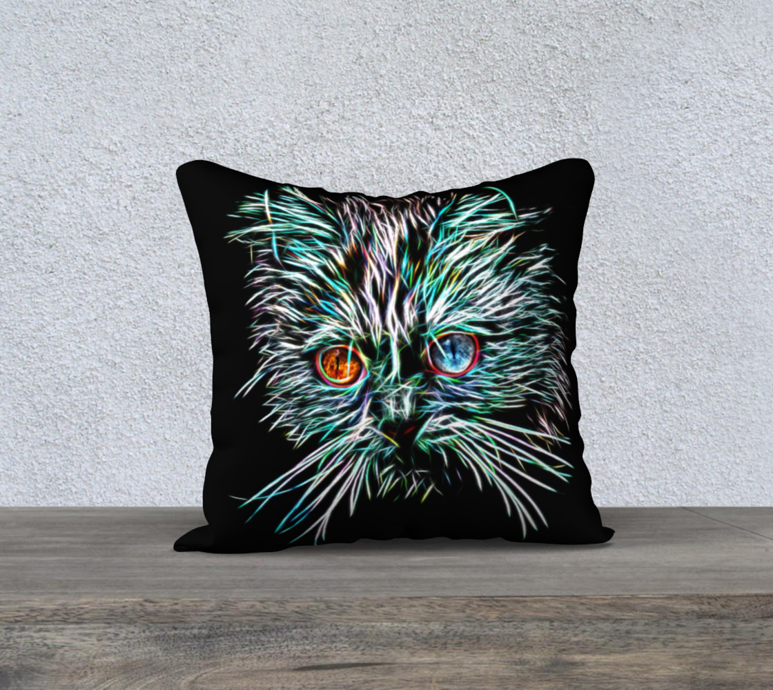 Aperçu de Odd-Eyed Glowing Cat #1