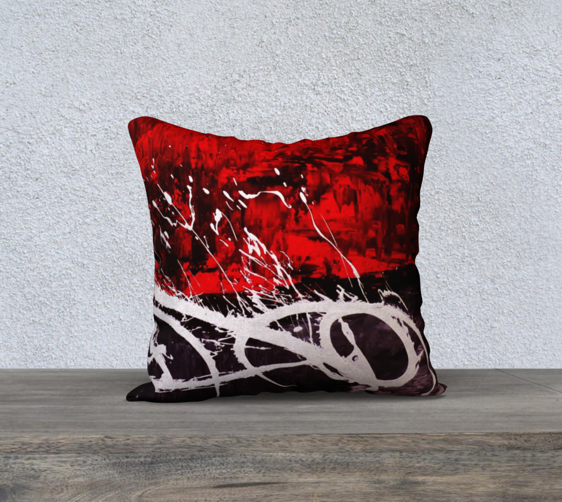 Matt LeBlanc Art Pillow - 006 - 18x18 preview #1