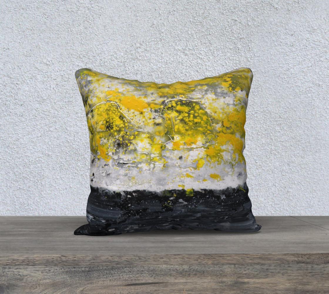 Matt LeBlanc Art Pillow - 009 - 18x18 preview #1