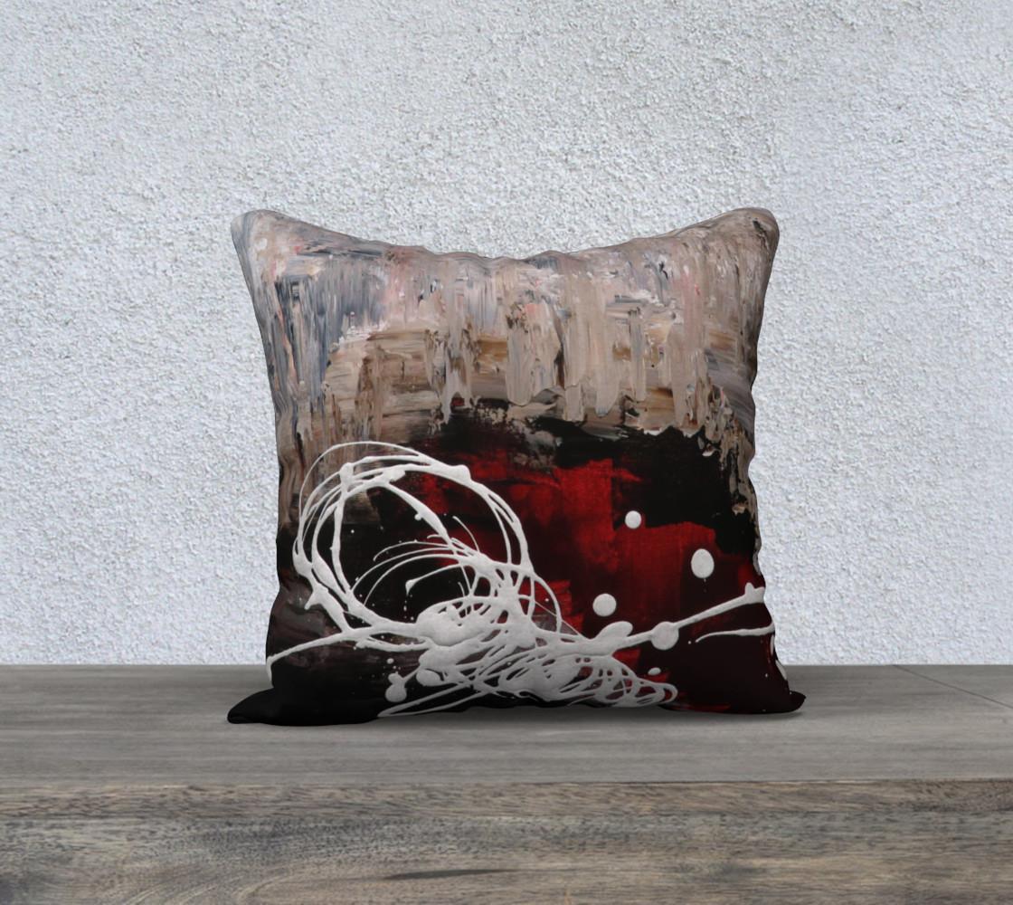 Matt LeBlanc Art Pillow - 010 - 18x18 preview #1
