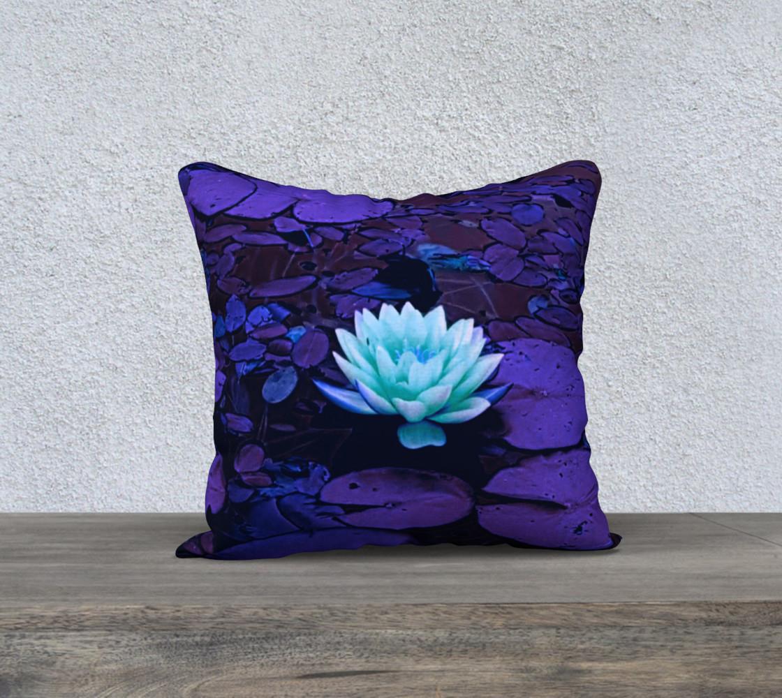 Aperçu de Lotus Flower Purple Turquoise #1