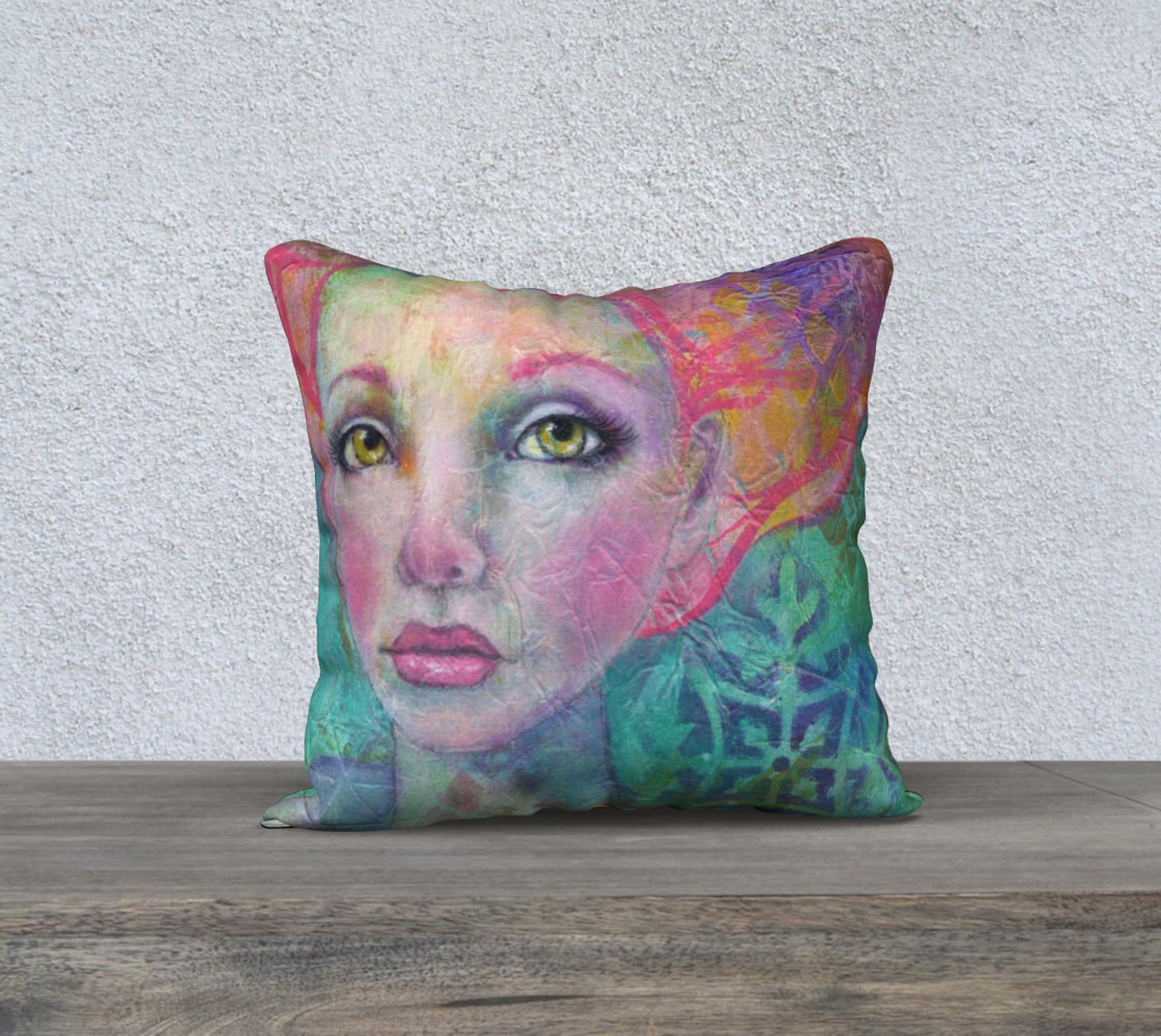 "Anahalia - 18"" Pillow Cover preview #1"